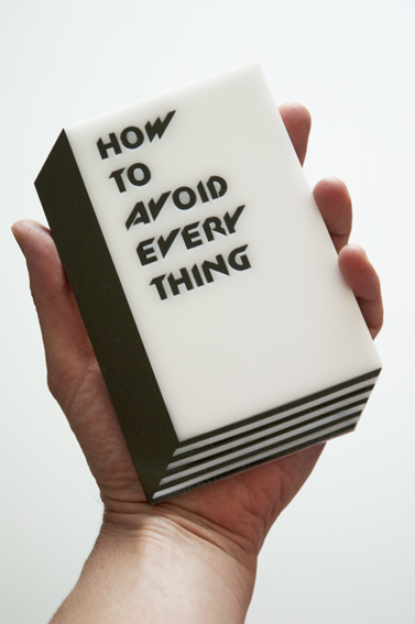 How to avoid everything booklet 1