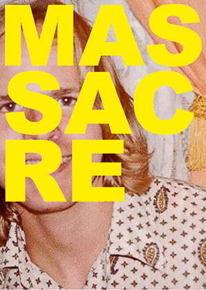 Massacre Postcard Front